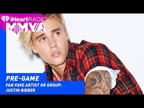 2017 iheartRadio Much Music Video Awards Justin Bieber WON Fan Fave Artist Or Group Award | 2017 iHeartRadio MMVAs - YouTube