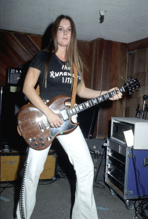 Lita Ford of The Runaways