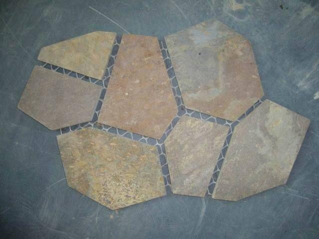 Mosaic Paver Patio   Selling Leads: Slate Paver,mesh Backed Paver,flagstone,