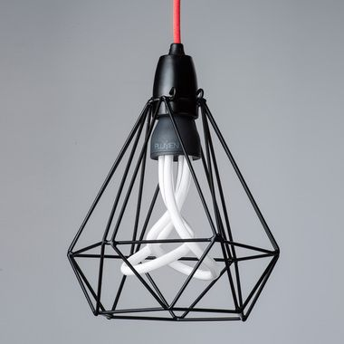 Buy Meccanica Diamond Cage with Cord and Plumen Globe Set Online. Exclusive Australian Distributor. QuickShip Available Nationally. Select your cord and light colour Trusted Australian Retailer. Buy Today!