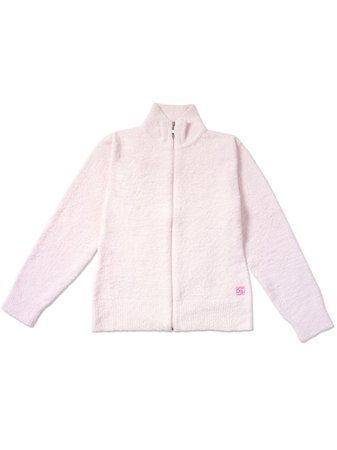 Kashwere Ladies Sports Jacket Pink, Size Large Kashwere. $97.95