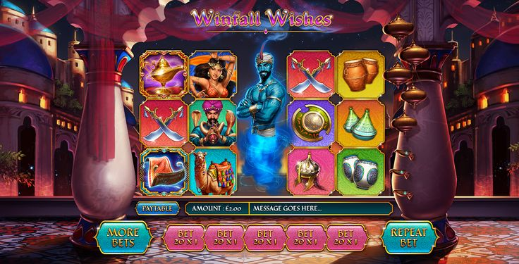 Winfall Wishes Slots - Play Free Gamesys Games Online