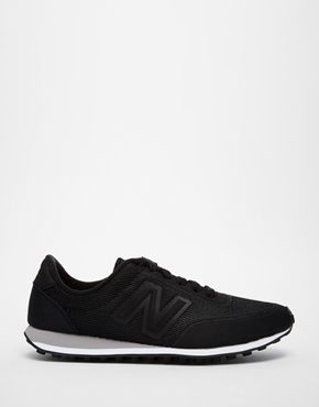N for Nina - what else could it be? ---Enlarge New Balance 410 Black Sonic Trainers