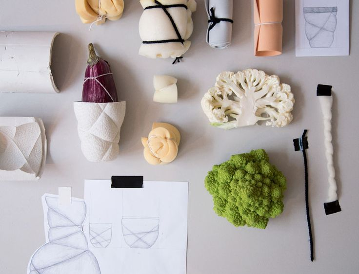 See how this unique line of matte black and white porcelain tableware was created.