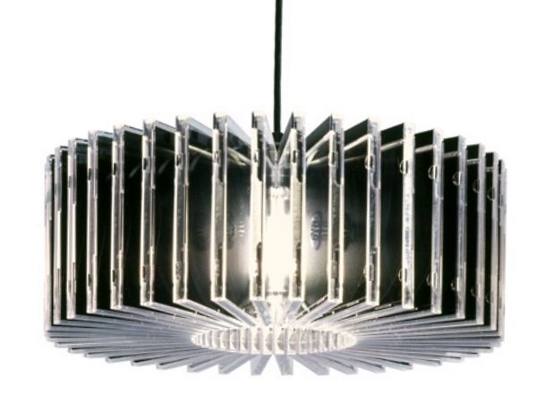 From CD Cases to Chandelier