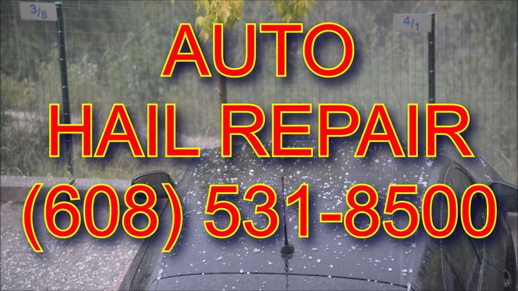 Auto Hail Damage Repair Service Madison WI | Paintless Dent Removal for Hail Dents | CALL US TODAY (608) 531-8500