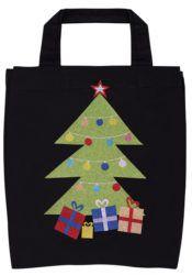 Craft a Christmas themed book bag!