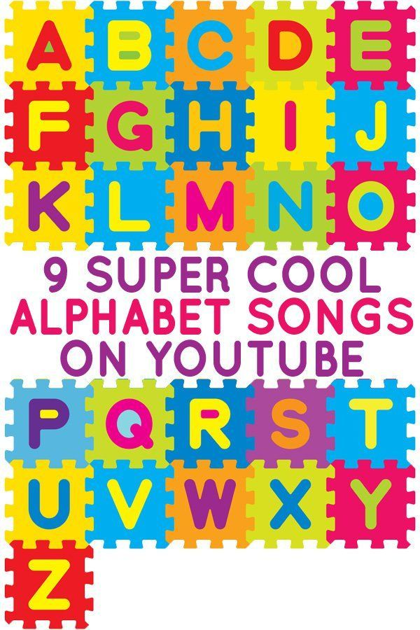 Alphabet songs on YouTube :: alphabet activities :: learn the alphabet centers