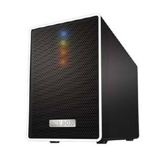RAIDSONIC ICY BOX IB RD4320STU3 2 3 5 SATA HDD kulso RAID haz USB 3 0 fekete IB RD4320STU3 *** www.pcland.hu Online Áruház ***
