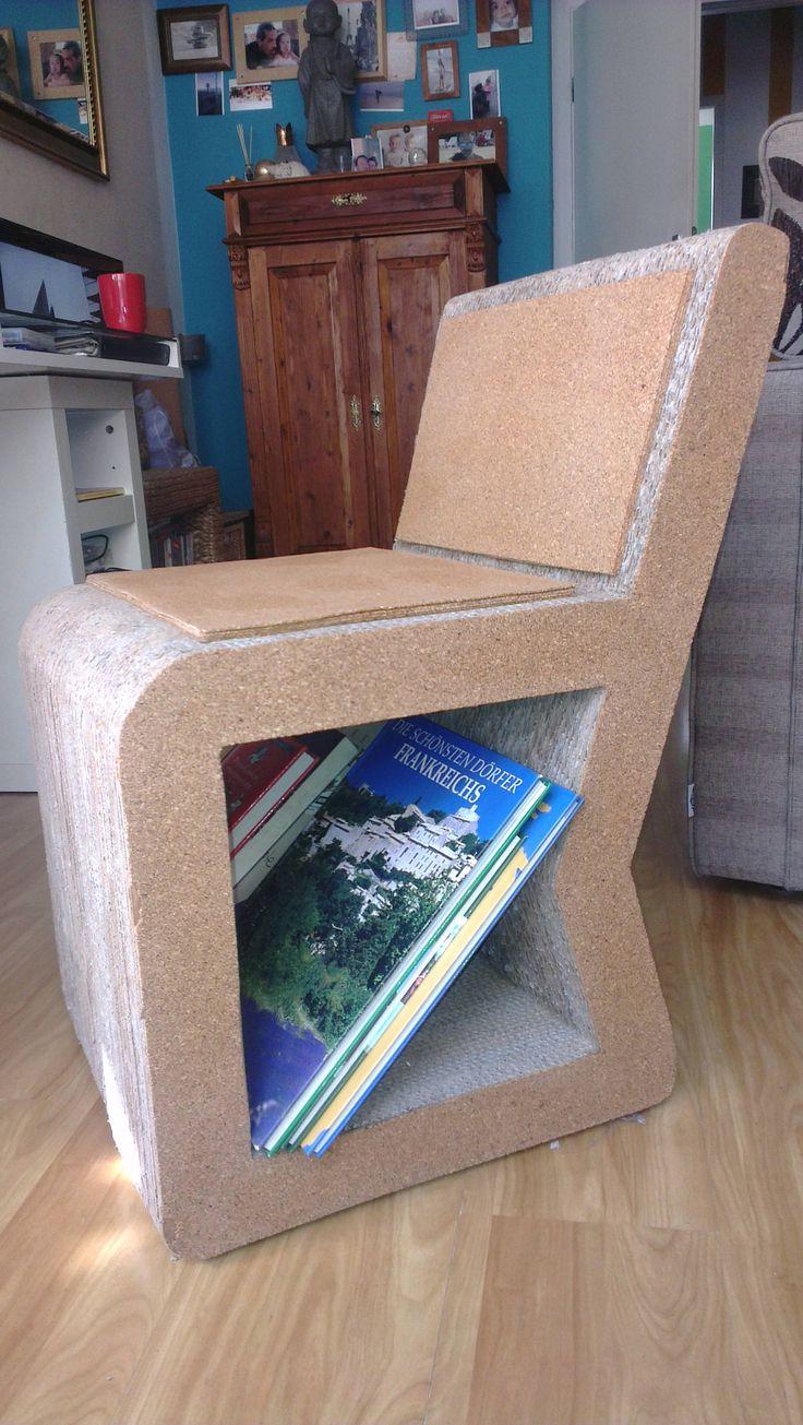 Corrugated Paper Chair 1845 best Cardboard Furniture