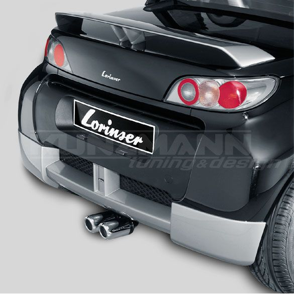 lorinser rear bumper smart roadster 452. Black Bedroom Furniture Sets. Home Design Ideas