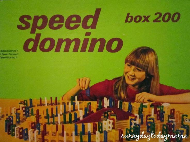 {life} speed domino http://sunnydaytodaymama.blogspot.co.uk/2014/03/life.html