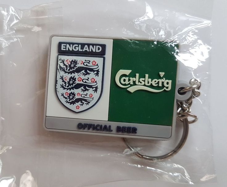 England national football team Carlsberg advertisers key ring  | eBay
