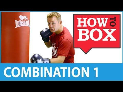 Punch Bag Combination 1 - Boxing Workouts - YouTube