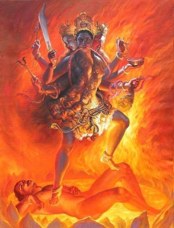 Bhṛkuṭītārā - Tārā with a Frown