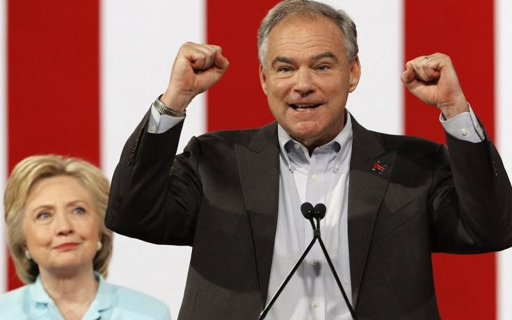 Holy Crap, Tim Kaine Just Killed It In His First Speech With Clinton He spoke Spanish to the cheering crowds and delivered a healthy dose of humility in a diseased election year. In other words, Tim Kaine just took America by storm.