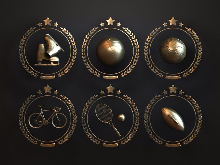 Sport Badges | њам | Pinterest | Badge, Sports and App icon