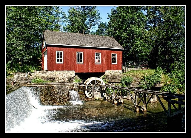 Morningstar Grist Mill, St Catharines, Ontario, Canada by 100alpha, via Flickr