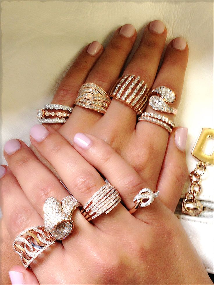 Which rose gold ring is your fave?