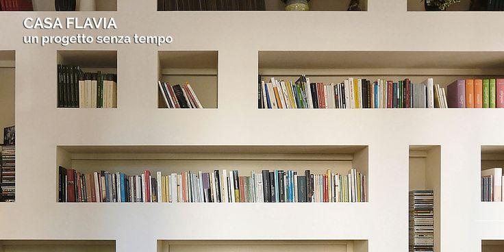 Ristrutturazione completa di un appartamento a Firenze. Uno stile senza tempo con le nicchie in cartongesso come protagoniste.