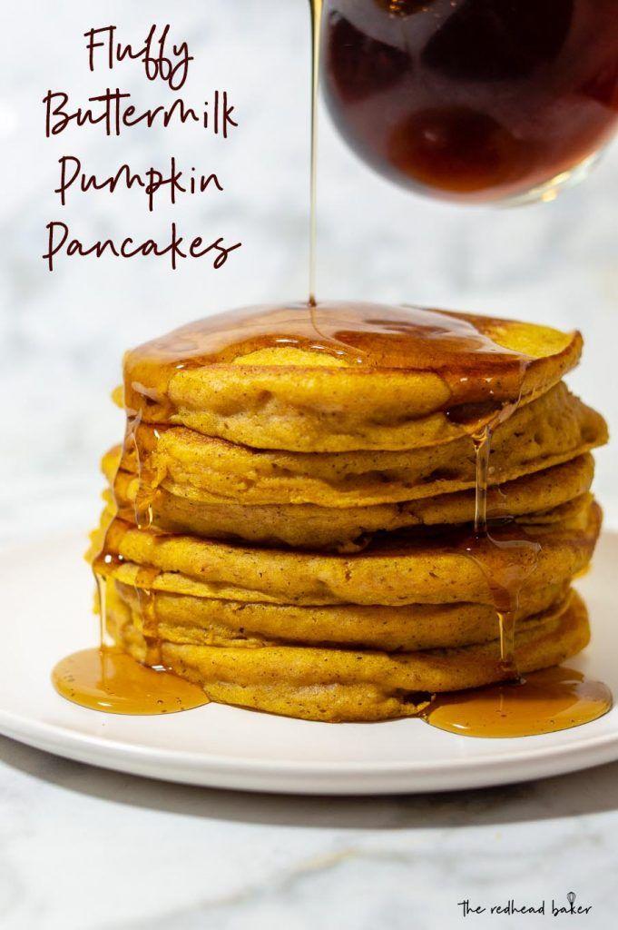 Fluffy Pumpkin Buttermilk Pancakes Recipe Pumpkin Buttermilk Pancakes Pumpkin Spice Pancakes Pumpkin Pancake Recipe