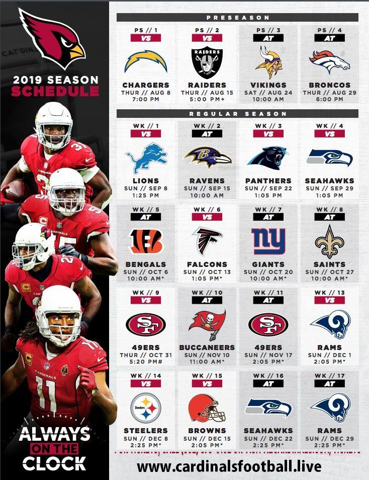 Arizona Cardinals Nfl Football Games Today Live Stream Nfl