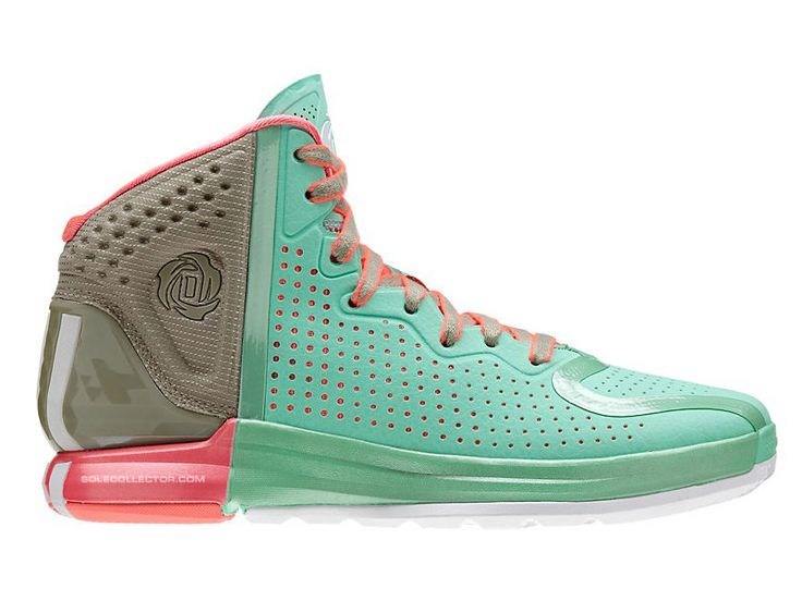 Adidas D Rose 4 - Prism Mint / Running White - Tech Beige