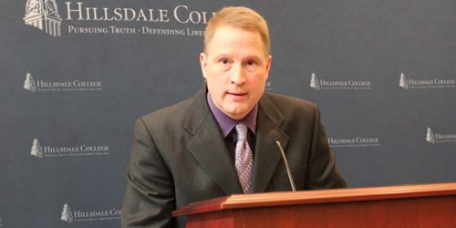 Terrence O. Moore, assistant professor history at Hillsdale College, speaking about Common Core at...