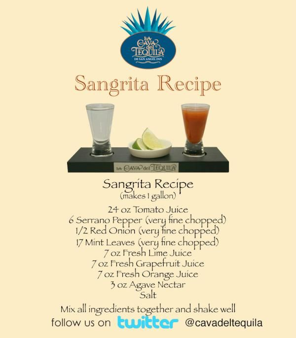 For everyone like @DisneyFoodBlog who have been asking for our Sangrita Recipe, here you go!