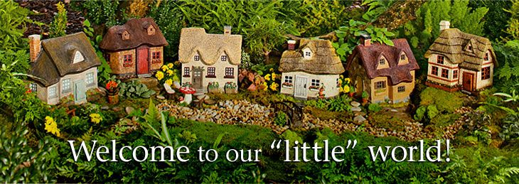 Miniature Fairy Garden Houses & Fairy Garden Accessories – Plow & Hearth – Fairies gardens