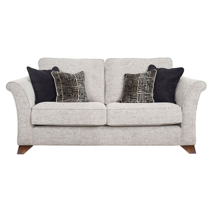 The Roslin has a minimalist style with the stunning impact of luxury co-ordinated accent cushions. The range consists of a 4 seater (with an additional central foot), 3 seater sofa, 2 seater sofa and an arm chair. Two large and two small accent scatters...