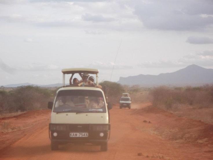on the way to Tsavo