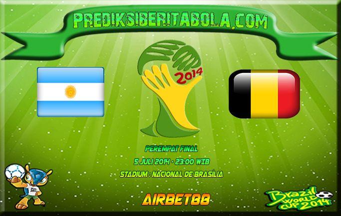 Prediksi Bola Argentina Vs Belgia 5 Juli 2014