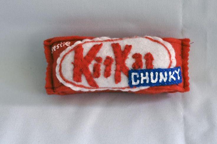 Kitkat Chunky  Lucy Sparrow