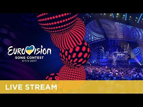 Eurovision 2017 Winner presentation