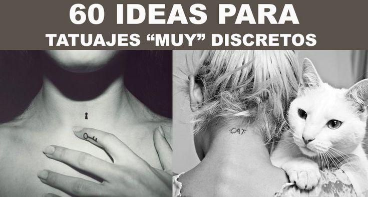 60 Ideas para hacerse un tatuaje discreto