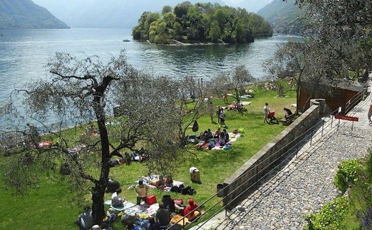 Lido di Ossuccio. Sole, Lago e Relax #lakecomotourism #lagodicomo #Como