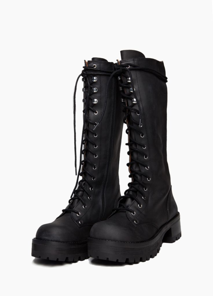 Wasteland Shoes - ShopWasteland.com - Jeffrey Campbell Radar Combat Boot