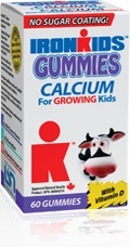 All natural (dairy free) Calcium Gummy Vitamins for kids!