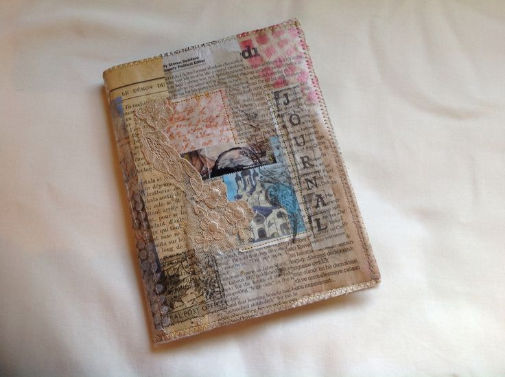 Mixed media journal cover. Kay Horne