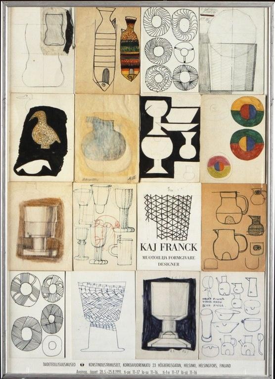 Kaj Franck exhibition poster