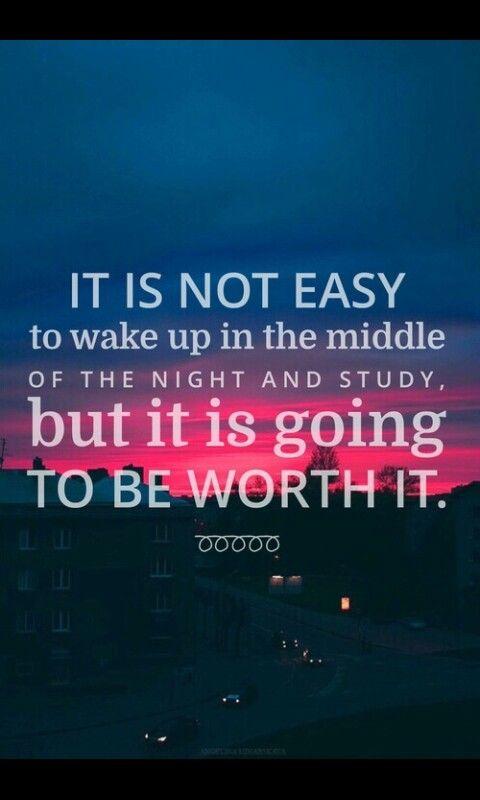 It is not easy