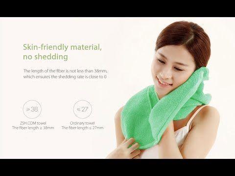 Гипоаллергенные полотенца для рук от Xiaomi ха 7 долларов