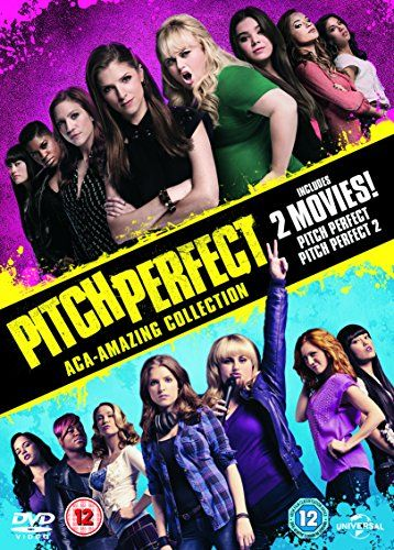 Pitch Perfect/Pitch Perfect 2 [DVD]: Amazon.co.uk: Anna Kendrick, Elizabeth Banks, Rebel Wilson, Brittany Snow, Anna Camp: DVD & Blu-ray