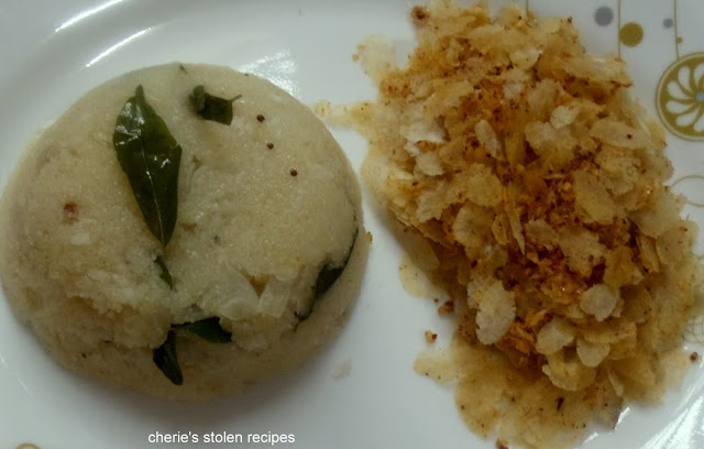 Sajige Poha (Mangalorean Breakfast) | Upma With Spicy Poha    As a child I used to generously sprinkle sugar over my Sajige Poha.