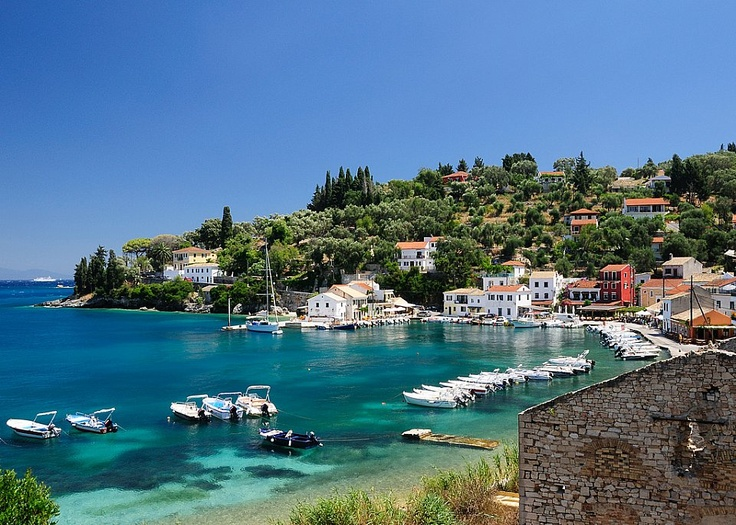 Loggos, in Paxos, one of my favourite greek islands.
