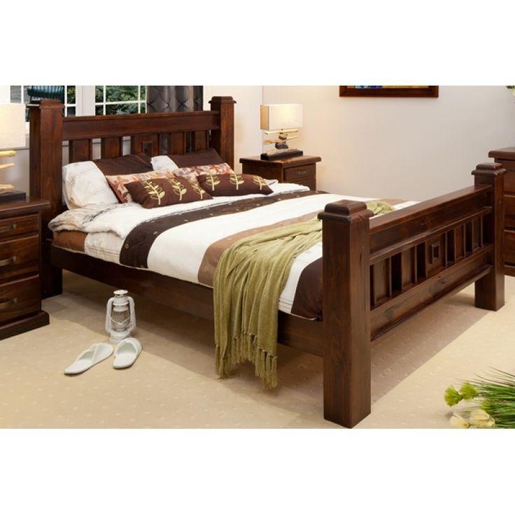 bedroom furniture quality | Rustic king bedroom set ...