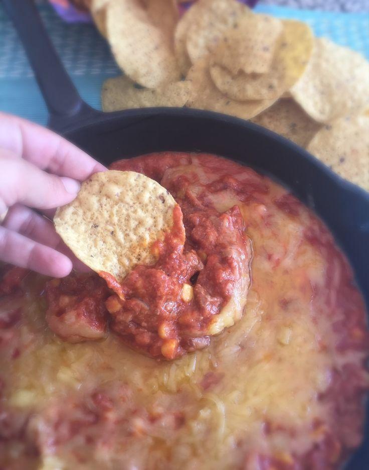 Dip de Queso y Carne para Nachos! Delicioso y contundente! Aperitivo ideal!