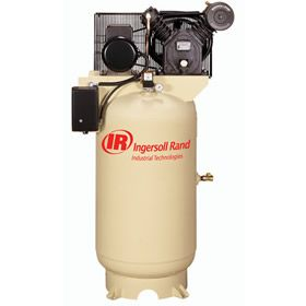 Ingersoll Rand 2475N7.5 7.5-HP 80-Gallon Two-Stage Air Compressor (230V 1-Phase) at Air Compressors Direct includes free shipping, a factory-direct discount and a tax-free guarantee.