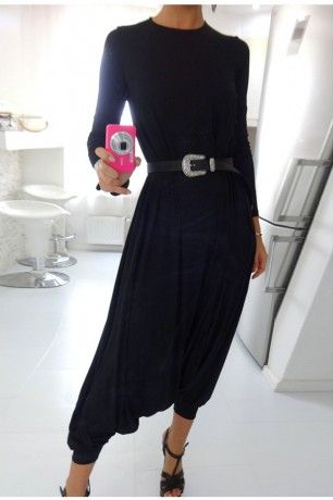 Black is always right! <3 autum casual overalls  New Arrivals | ChicDiva